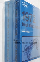 1972 Ford Truck Shop Manuals Spine View