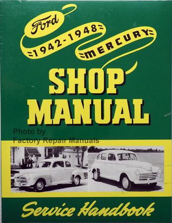 1942 1948 ford mercury car truck factory service manual shop rh factoryrepairmanuals com F 150 Repair Manual Online Ford Focus Repair Manual Online