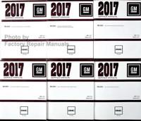 2017 GMC Acadia Service Manuals Complete Volume 1-6