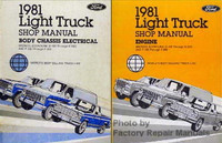 1981 Ford Light Truck Shop Manual Volume 1, 2