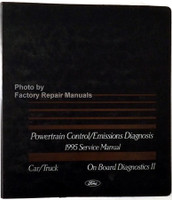 Powertrain Control/Emissions Diagnosis 1995 Service Manual Car/Truck On Board Diagnosics