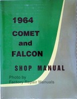 1964 Ford Falcon, Comet, Ranchero Factory Shop Manual Spine View