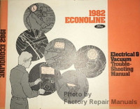 1982 Econoline Electrical & Vacuum Troubleshooting Manual