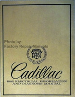Cadillac 1982 Electrical Information and Diagnosis Manual