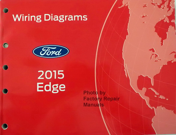 2015 ford edge electrical wiring diagrams original factory repair ford radio wiring schematic wiring diagrams ford 2015 edge