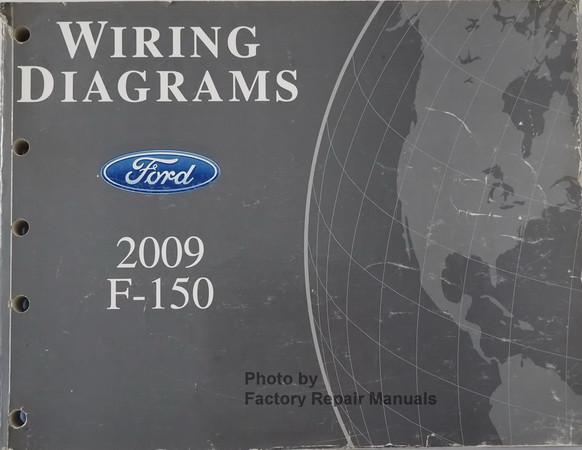 2009 ford f150 electrical wiring diagrams original factory repair rh factoryrepairmanuals com 2008 f150 wiring diagram parking brake 2009 f150 stereo wiring diagram