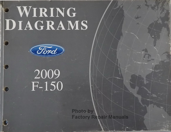2009 Ford F150 Electrical Wiring Diagrams Original - Factory Repair ...