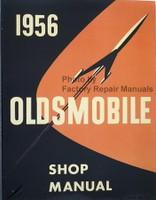 1956 Oldsmobile Factory Service Manual Shop Repair Reprint