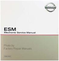 2018 Nissan Titan ESM Electronic Service Manual CD-ROM