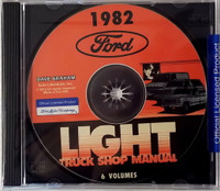 1982 FordLight Truck Shop Manuals 6 Volumes