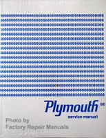 1966 Plymouth Service Manual