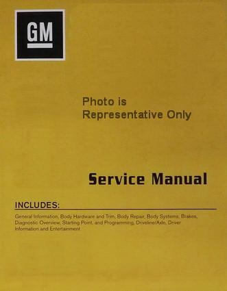 2016 Chevy Malibu Service Manuals