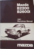 Mazda B2200 B2600i 1991 Workshop Manual