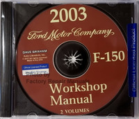 2003 Workshop Manual Ford F-150 Volume 1 & 2 on CD