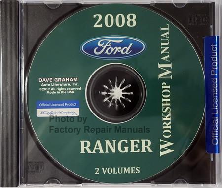 Ford 2008 Ranger Workshop Manual CD