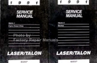 1991 Service Manual Laser/Talon Volume 1, 2