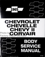 1965 Chevrolet Chevelle Chevy II Corvair Body Service Manual