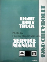 1980 Chevy Light Duty Truck Service Manual