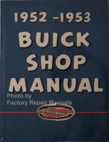 1952 1953 Buick Shop Manual