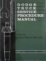 1961 Dodge Truck Service Procedures Manual