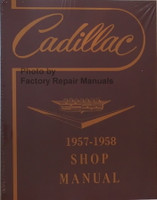 1957 1958 Cadillac Shop Manual