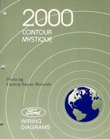 2000 Ford Contour, Mercury Mystique Electrical Wiring Diagrams - Original Manual