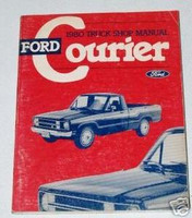1980 Ford Courier Pickup Truck Factory Dealer Shop Service Repair Manual