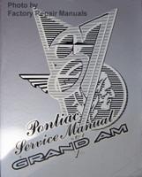 1987 Pontiac Service Manual Grand Am