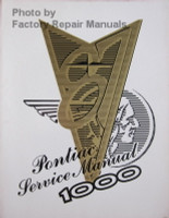1987 Pontiac Service Manual 1000