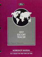 1997 Ford Escort & Mercury Tracer Factory Service Manual Original Shop Repair