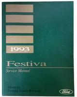 1993 Ford Festiva Factory Shop Service Manual