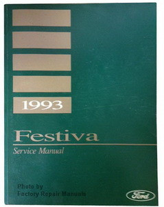 1993 ford festiva factory shop service manual factory repair manuals rh factoryrepairmanuals com
