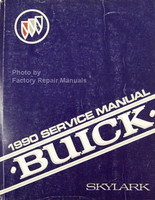 1990 Buick Skylark Factory Service Manual - Original Shop Repair