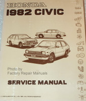Honda 1982 Civic Service Manual