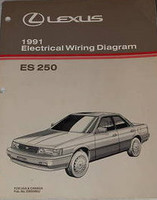 Lexus 1991 Electrical Wiring Diagrams