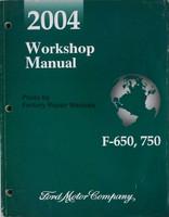 2004 Workshop Manual F-650, 750