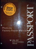 Honda 1996-1997 Fuel & Emissions Manual Passport