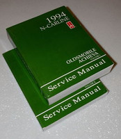 1994 Oldsmobile Achieva Factory Service Manual 2 Volume Set Original Shop Repair