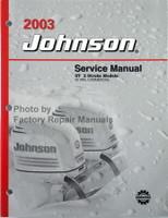 2003 Johnson Service Manual ST 2 Stroke Models 55 WRL Commercial