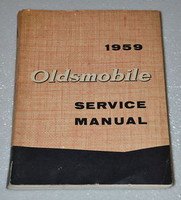 1959 OLDSMOBILE SUPER 88 98 Shop Service Manual Sedan Coupe Convertible Holiday