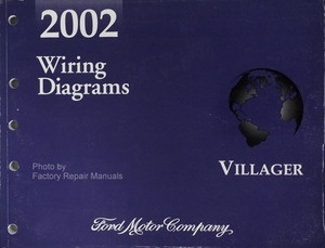 2002 mercury villager electrical wiring diagrams original. Black Bedroom Furniture Sets. Home Design Ideas