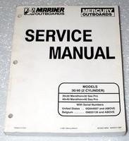 MERCURY 30hp 40hp 30 40 2 Cylinder Marathon Sea Pro Outboard Shop Service Manual