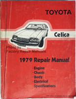 1979 Toyota Celica Repair Manual
