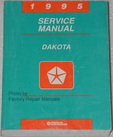 1995 Dodge Dakota Pick-up Factory Service Manual Original Shop Repair