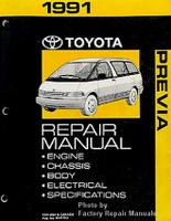 1991 Toyota Previa Factory Repair Manual