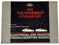 Ford 1995 Thunderbird Cougar XR7 Electrical and Vacuum Troubleshooting Manual