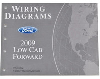 2009 Ford LCF Low Cab Forward Truck Electrical Wiring Diagrams