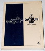 1980 DATSUN 810 SEDAN WAGON 2.4L GAS MODELS Factory Shop Service Repair Manual