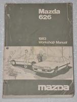 1983 MAZDA 626 2.0L Original Factory Dealer Work Shop Service Repair Manual Book