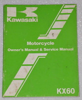 1983 KAWASAKI KX60 KX60-A1 MOTORCYCLE Factory Owners Shop Service Repair Manual